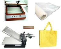 Manuall Screen Printing Machine Full Package + non-woven bags 100pieces, Low shipping fee, fast ship.