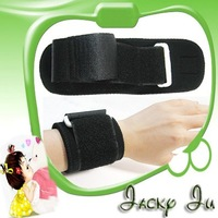 Free Shipping New Neoprene New Black Sports Wristband Wrist Supporter Wrist Pad Cuff Stick