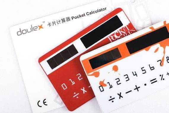 Doulex Pocket Card Solar Panel Power Calculator Counter(China (Mainland))