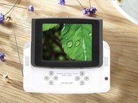 3.5 inch 240x320 Resolution TFT screen portable digital TV with Radio  8G