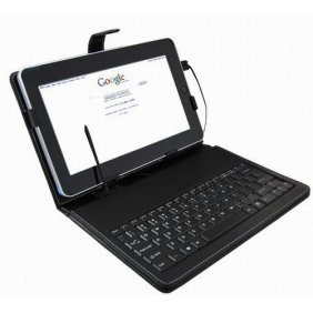 10inch tablet pc Keyboard Flip Stand Case Cover USB Keyboard(China (Mainland))