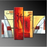 Abstract Huge Art Oil Painting wall decorate Guaranteed 100% Free shipping14