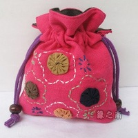 Wholesale !Individuality hand-made  bag ,wallet,portable bag001040020