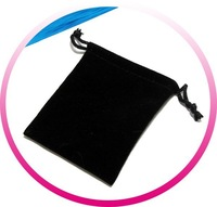 7x9cm Velvet Gift Pouch/Jewelry Bag/Fabric cloth sack