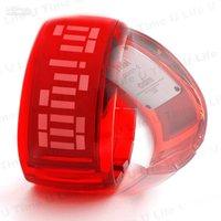 Free shipping+20PCS Hot selling Unisex Jelly bracelet Digital Watch ,led watch !