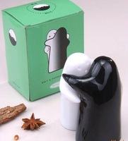 Hot selling Supply of black and white embrace creative cruet 100pairs/lot free shipping
