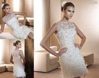 W59 New style sexy Mini wedding dress