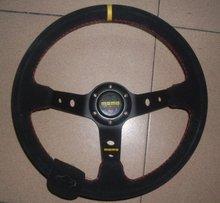 momo suede steering wheel promotion