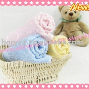 Hot wholesale!!! Free shipping 100% bamboo fiber super softness Kids towels, bamboo towel