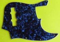 Sell Pearl Blue Jazz Bass Guitar Pickguard