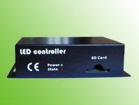 LED SD card controller;support LPD6803, D705, D709, WS2801, DMX512/1990 decoder/driver