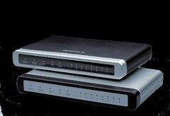 8 FXO voip gateway GXW410x IP Analog Gateway Series