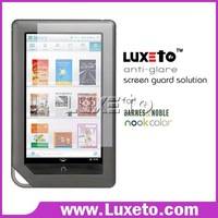 Anti-scratch screen protector for Nook color