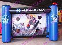 goal shot, Inflatable sport game ,wholesale/retail,1CE blower+1repair kit