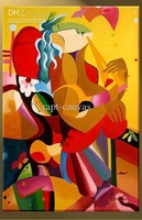 Canvas-modern-painting-Music-decoration-Pop-abstract-handmade-MUSIC-0071