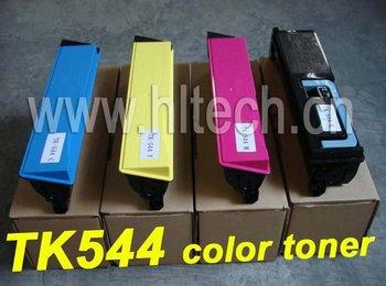 TK544 color toner cartridge Compatible Kyocera Mita FS-C5100DN B/M/C/Y 4PCS/LOT