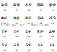 FREE SHIPPING 30pcs mixed style enamel spacer bead fit bracelet M19637