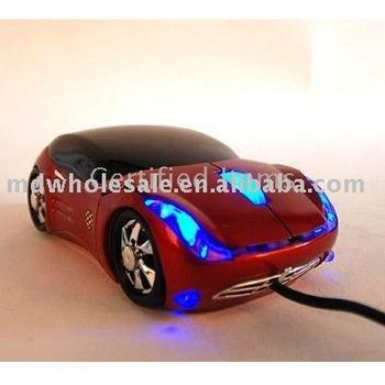 Wholesale - Car shape USB Optical MOUSE FOR PC LAPTOP 3D USB mouse car usb mouse 12pcs/lot