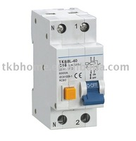 Residual Circuit Breaker with overcurrent protection (RCBO) with CE certification