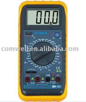 My-63 3 1/2 multímetro DIGITAL