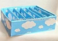wholesale, Bra and underwear storage box with 7 grids