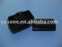 OBD2 male connector or obd2 female connector