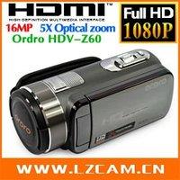 Потребительская электроника FHD 1080P 23xoptical zoom 120xdigital zoom camcorder Ordro HDV-D370