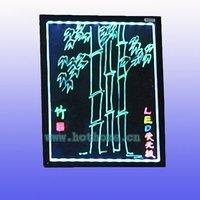 30x40cm LED writting board, LED message board, Fluorecent LED writting board, Super slim LED handwritten board