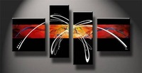 MODERN ABSTRACT CANVAS ART OIL PAINTING Guaranteed 100% Free shipping p-16