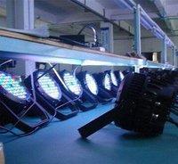 54 pcs bead(3W)RGB+W High power LED light/DMX signal stage lighting/stage light/DJ light/LED Par Can