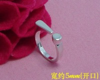 R210706 Free & Fast shipping Wholesale 925 silver Unique lady Classic Rings