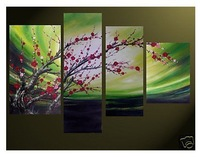 MODERN ABSTRACT CANVAS ART OIL PAINTING Guaranteed 100% Free shipping12