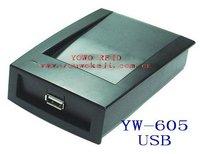 USB HF RFID Reader/Writer/ISO14443A+B+ISO15693/13.56M/YW-605UC