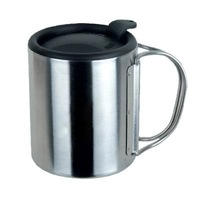 (Free Shipping)CE-033 220 mL Stainless Steel Mug Outdoor Camping Hiking
