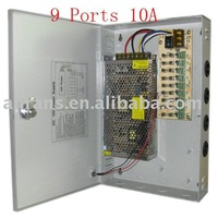 9 Port 12V 10A POWER SUPPLY BOX for CCTV CAMERA