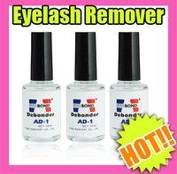 Fast & Free Shipping 3 pcs useful makeup & eyelash remover bottle new S139