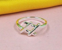 R215403 Free & Fast shipping Wholesale 925 silver elegant lady classic Rings