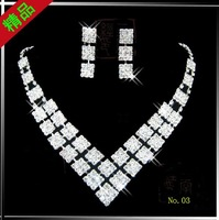 Fashion jewelry set .evening dress accessories wedding jewelry sets bridal Jewelry Sets