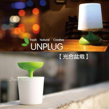 EcoLife ! Solar Garden LED Light.UNPLG ! creativity!Fresh Natural Creative./Solar Lighting/solar garden lamp.