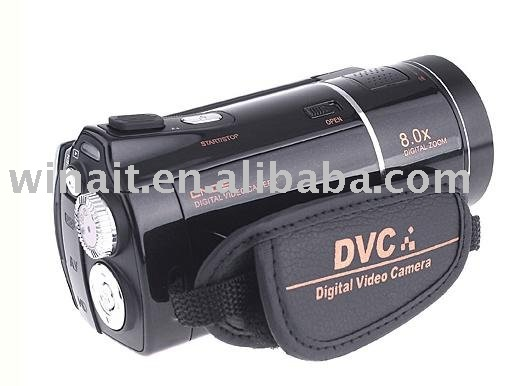 DHL free shipping: New arrival for Digital video camera Full HD 1080P with Color TFT-LCD 3.0 inch and Operation System(China (Mainland))