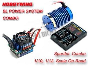 Hobbywing eZrun Combo B1 35A ESC 13T 3000KV Brushless Motor
