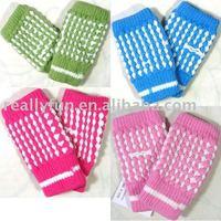 Pineapple knitting wool gloves,winter fingerless Typewriting gloves ,40 pairs/lot+Free Shipping