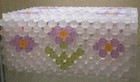 holiday crafts crystal beads crystal take in box,Home accessories DIY handmade beaded tissue box tray pumping dolphins