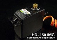 Best selling Power HD 1501MG 17KG Metal gear 16g servo