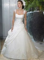 Free shipping best selling Designer Wedding Dresses any size/color wholesale/retail