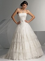 Hot Selling !Fast  Speed !Free Shipping !Guaranteed100% Good quality  Wedding Dress  wedding  gown +Free  Custom  Logo ---TT-23
