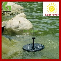 New Arrival lowest price Solar Power Floating Brushless garden Fountain mini water Pump Kit