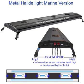 "ODYSSEA Aquarium lighting fixture/Fish tank lamp 60"" Metal Halide HQI ADV+ T5 1070W/Mounting legs"