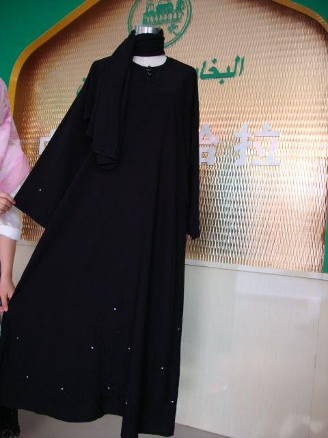 KA01232352 Chegada nova alta qualidade venda quente tecido TR Moda musilim abaya(China (Mainland))
