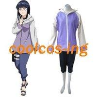 Naruto Shippuden Hinata Hyuga Women's Cosplay Costume-Free Shipping